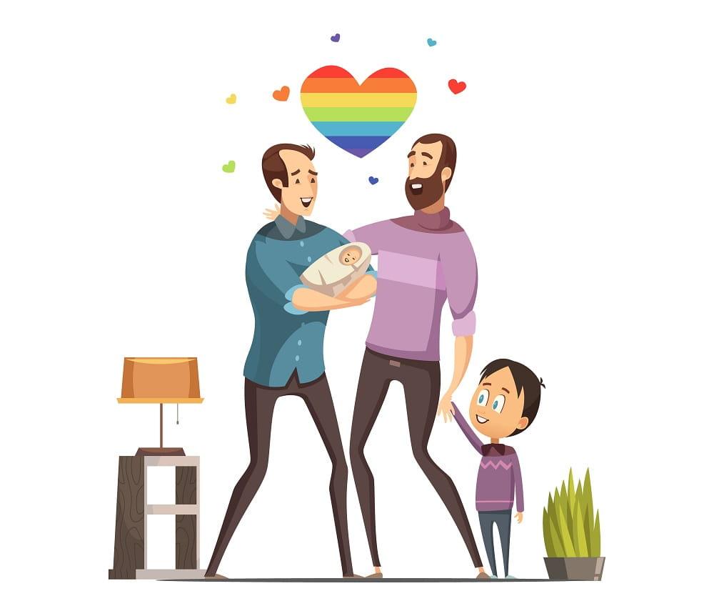 Adozione a due padri gay all'estero: com'è avvenuto il riconoscimento in Italia