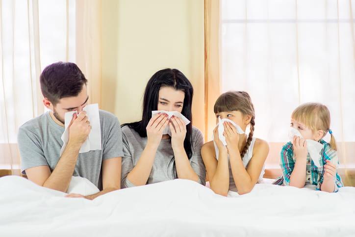 Tutti a casa con l'influenza, il peggio è passato?